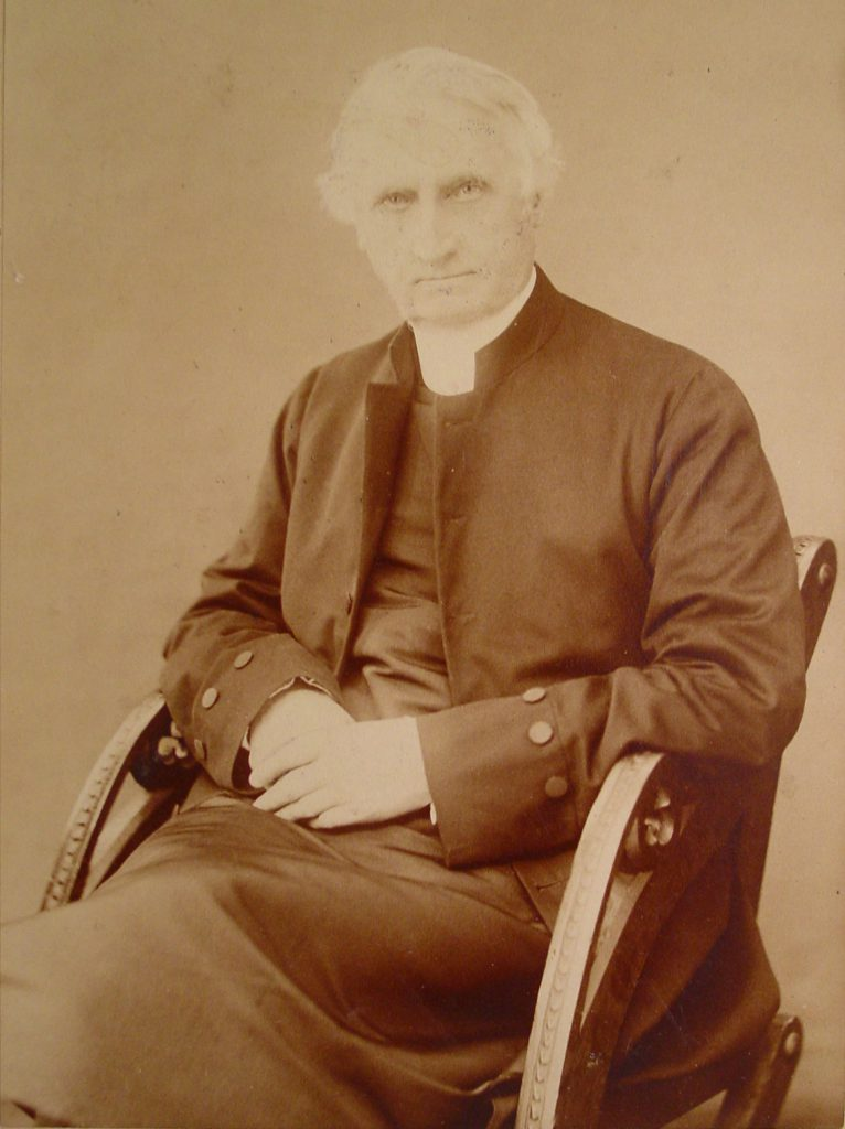 Right Reverend George Hills, D.D., Lord Bishop of British Columbia, 1859-1892 (photo: Diocese of British Columbia Archives)