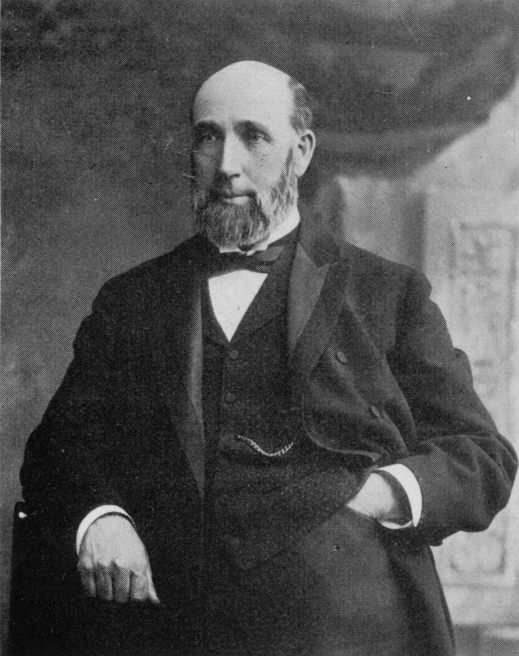 Senator George Albertus Cox (photo: National Archives of Canada)