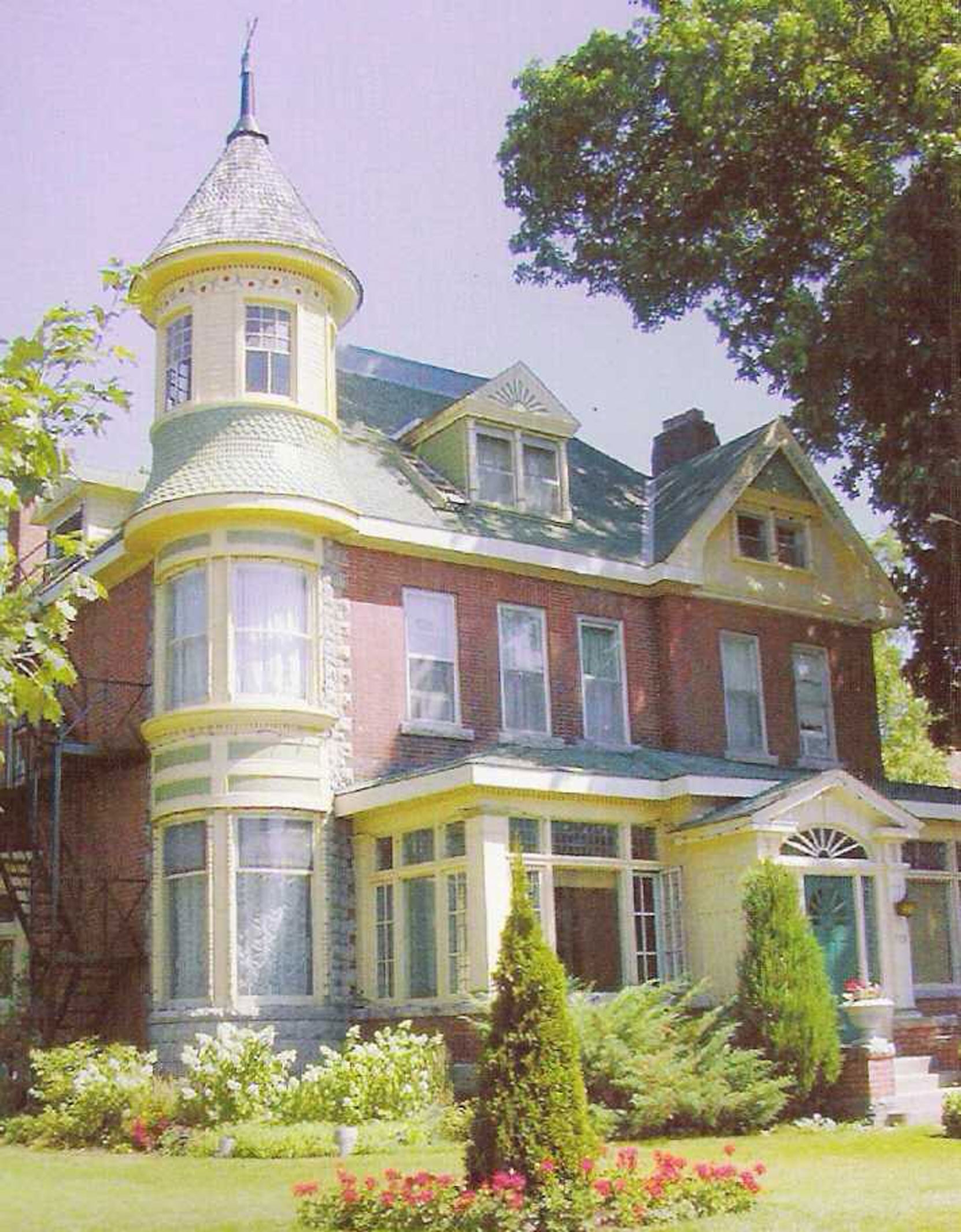 David Martin Butcart's former house at 919 5th Avenue East, Owen Sound, Ontario is not the Butchart Estate B&B (Photo courtesy of Butchart Estate B&B)