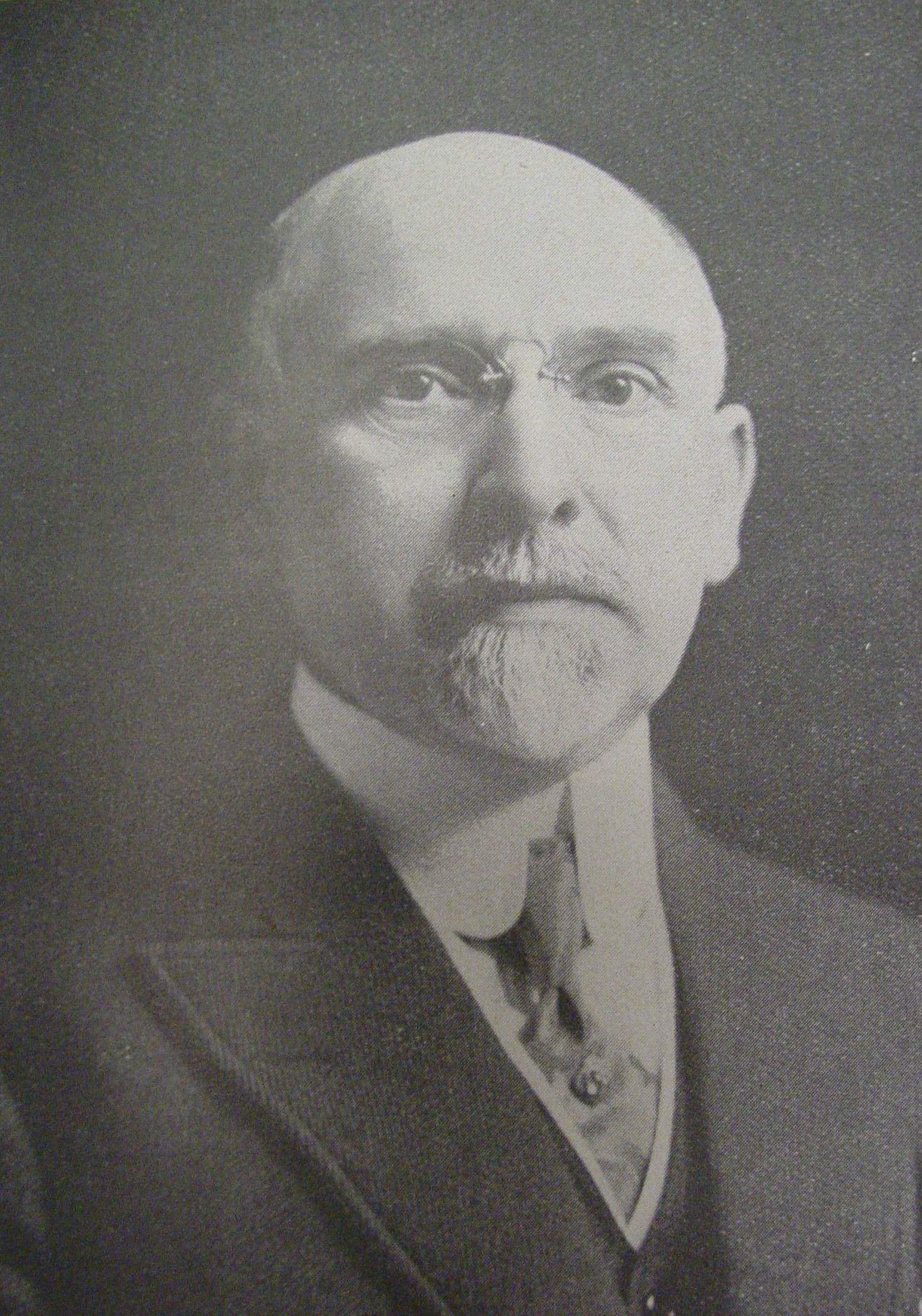 Edward Rogers Wood, circa 1917 (Author;'s collection)