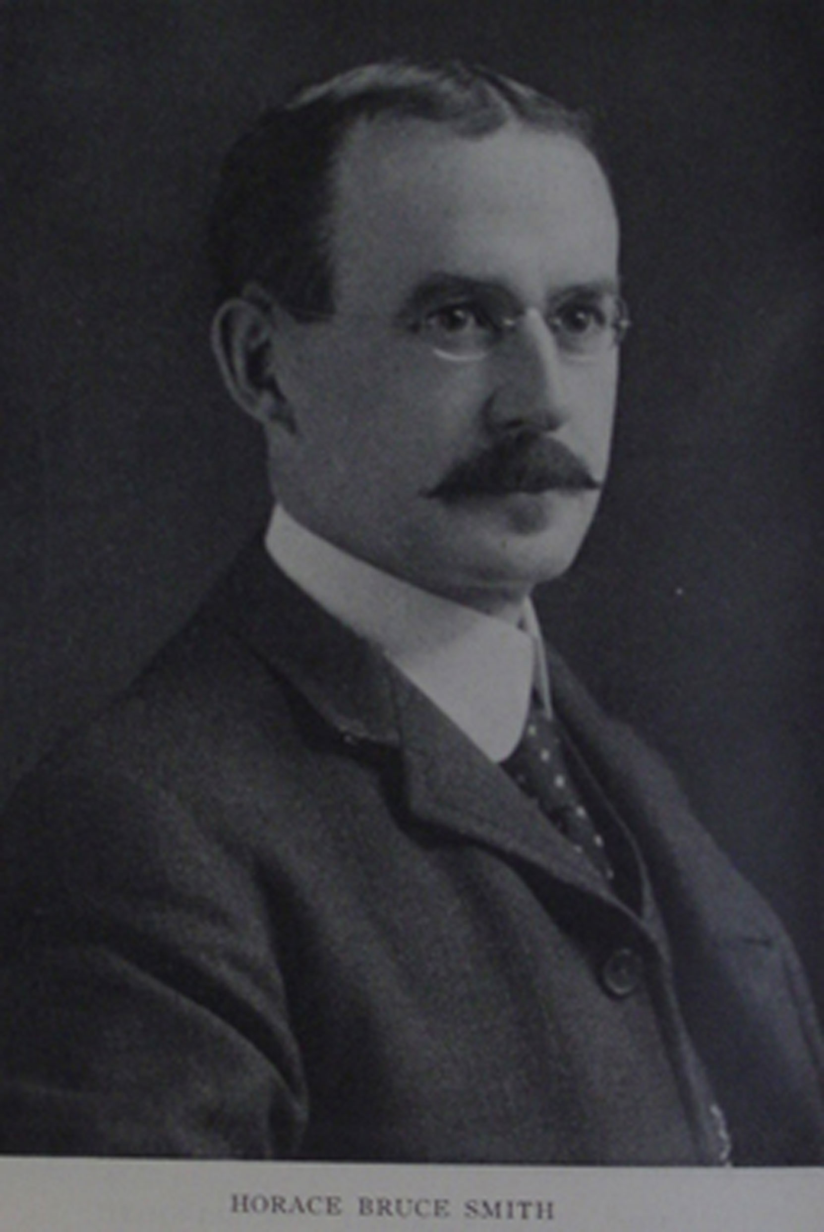 Horace Bruce Smith, circa 1910 (Author's collection)